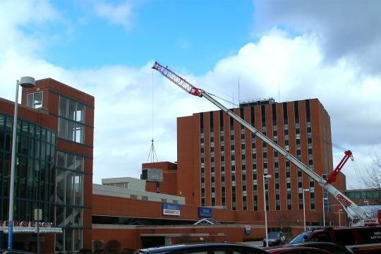 Memorial Hospital South Bend Cooling Tower Replacement