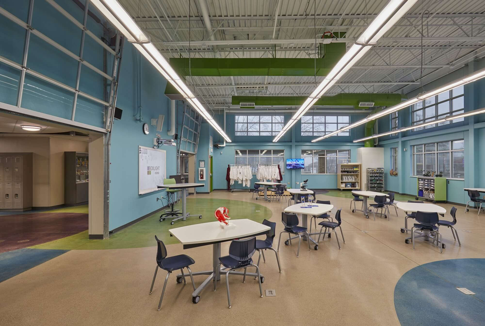 Warsaw School's STEM lab