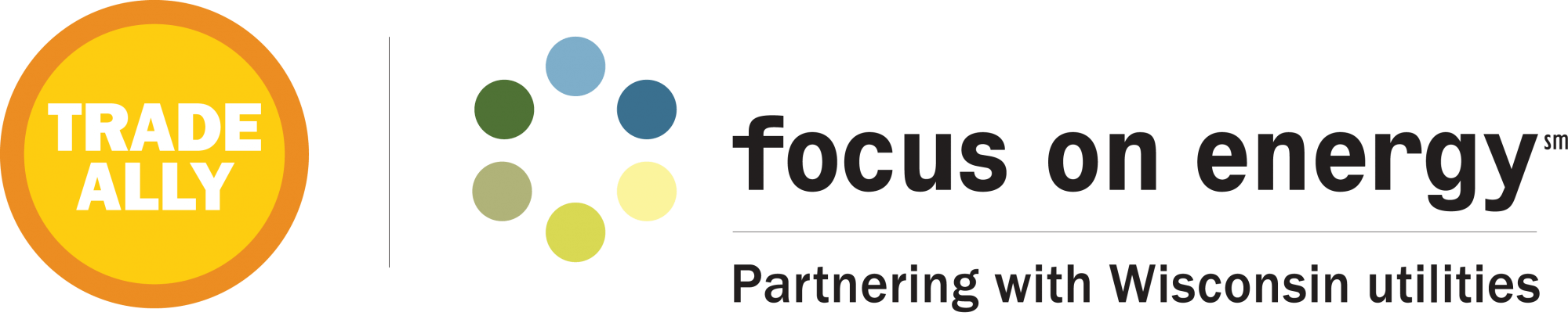 Trade Ally Logo for Focus on Energy