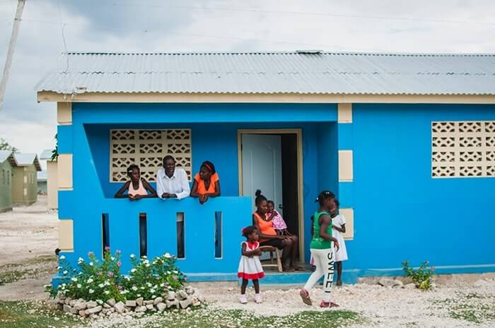 Home that Performance Services helped build in Haiti