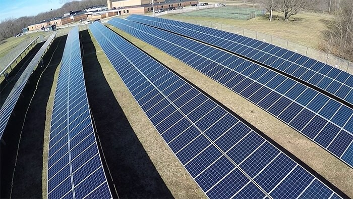Krueger Middle School Solar Array