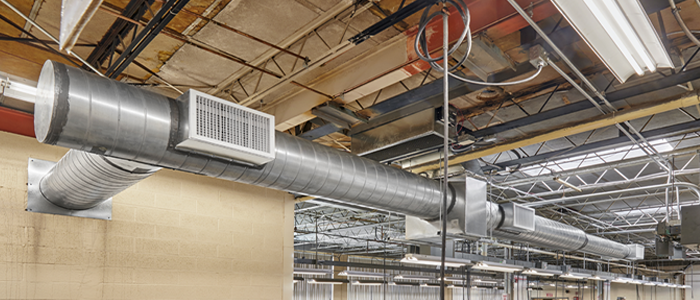 Indoor air HVAC system
